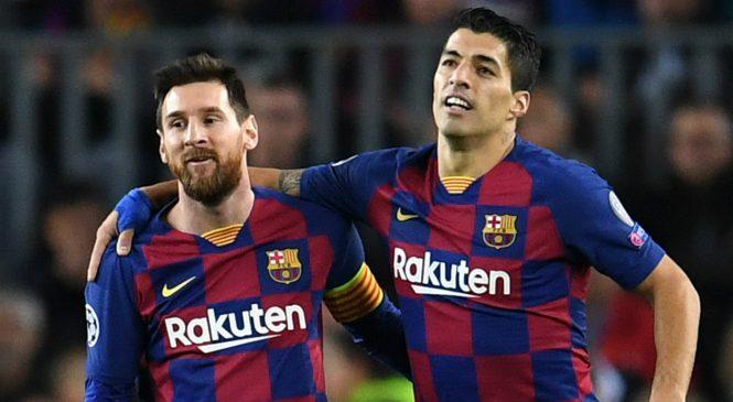 """""""Masa depan Messi akan mempengaruhi Luis Suarez"""""""