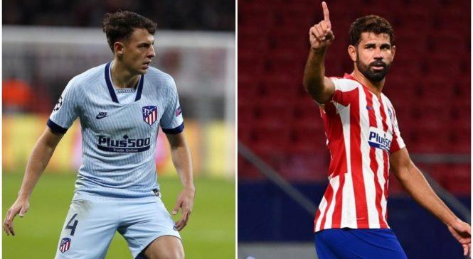 Dua bintang Atletico positif COVID-19
