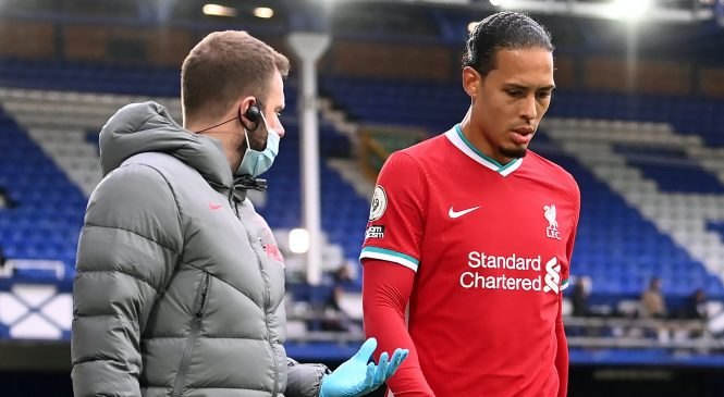 RESMI! Liverpool menyingkirkan Van Dijk dari daftar Liga Premier