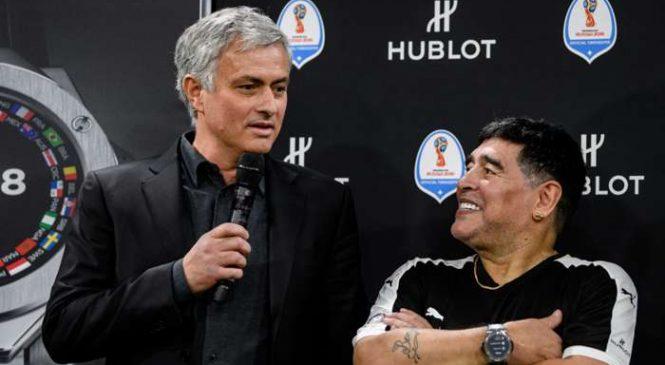 Mourinho mengungkapkan sesuatu yang istimewa tentang Maradona