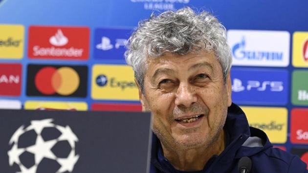 Pelatih Mircea Lucescu oleh Dynamo Kyiv
