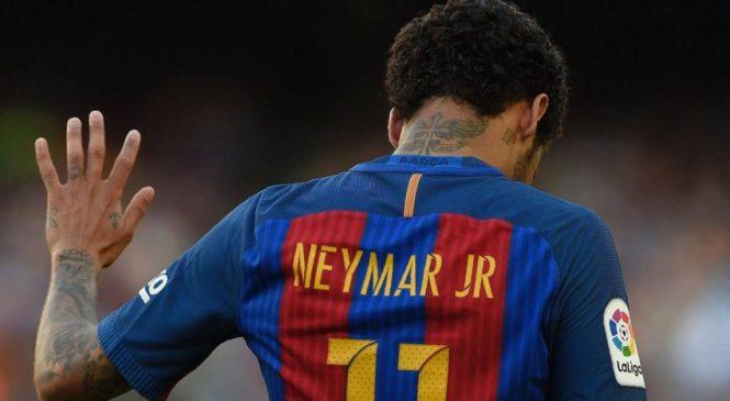 Barca sedang mempertimbangkan untuk menuntut Neymar demi uang