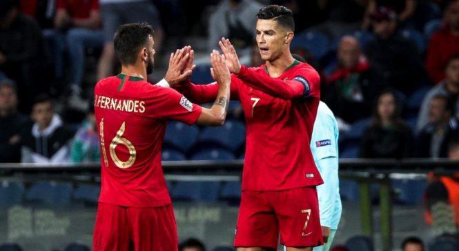 Bruno Fernandes ingin seperti Ronaldo