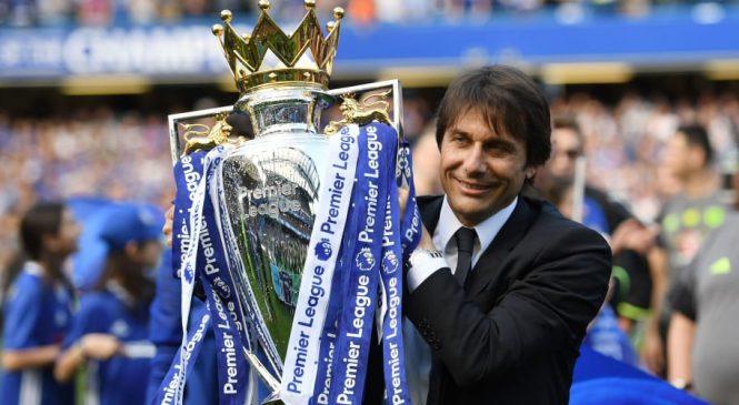 Conte dalam perjalanan kembali ke London